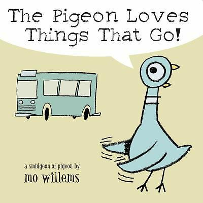 The Pigeon Loves Things That Go!, Willems, Mo, Acceptable Book