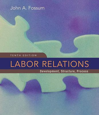 Labor Relations, Fossum, John, Good Book