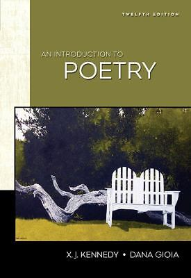 An Introduction to Poetry, Gioia, Dana, Kennedy, X. J., Acceptable Book