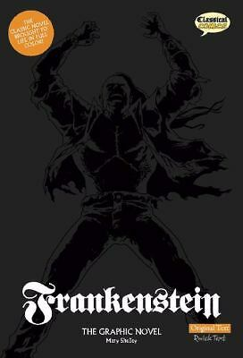 Frankenstein: The Graphic Novel (American English, Original Text), Mary Shelley,