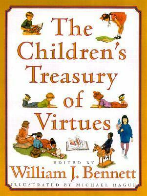 The Children's Treasury of Virtues, William J. Bennett, Good Book