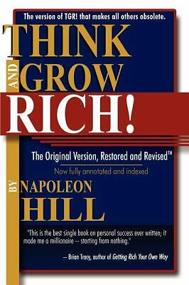 Think and Grow Rich!: The Original Version, Restored and Revised by Napoleon Hi