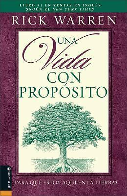 Una Vida con Proposito (Spanish Edition), Rick Warren, Good Book