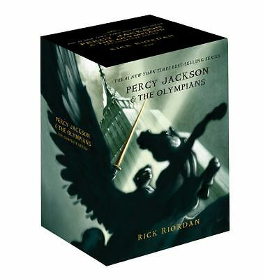 Percy Jackson pbk 5-book boxed set (Percy Jackson & the Olympians)  Riordan, Ri