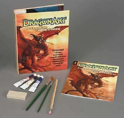 DragonArt Kit: How to Draw and Paint Fantastic Creatures, Peffer, Jessica, Accep