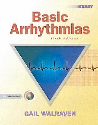 Basic Arrhythmias (6th Edition), Walraven, Gail, Acceptable Book