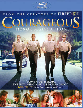 Courageous (+ UltraViolet Digital Copy) [Blu-ray], Acceptable DVD, Ken Bevel, Al