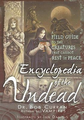 Encyclopedia of the Undead, Bob Curran, Good, Books