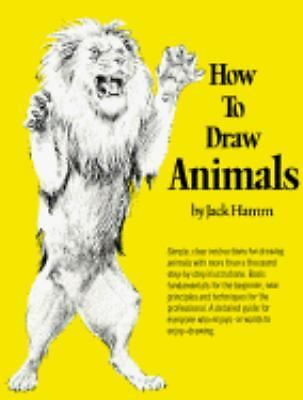 How to Draw Animals (Perigee) by Hamm, Jack