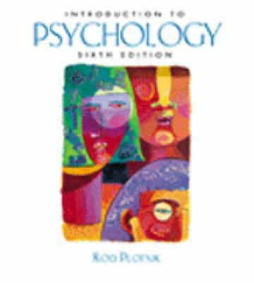 Introduction to Psychology With Infotrac, Plotnik, Rod, Good Book