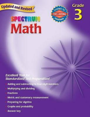 Math, Grade 3 (Spectrum), Thomas Richards, Spectrum, Acceptable Book