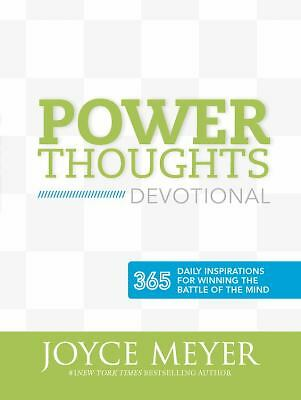 Power Thoughts: 12 Strategies to Win the Battle of the Mind by Meyer, Joyce