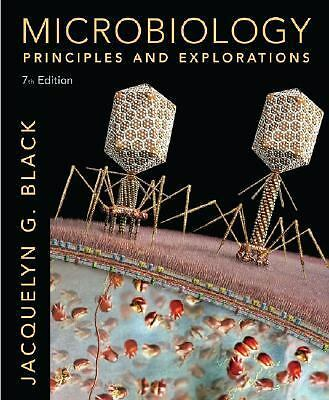 Microbiology: Principles and Explorations, Jacquelyn G. Black, Acceptable Book