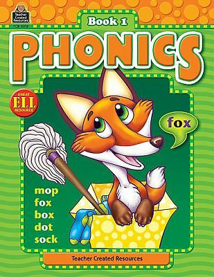 Phonics Book 1 (Phonics (Teacher Created Resources)), Crane, Kathy Dickenson, Ac