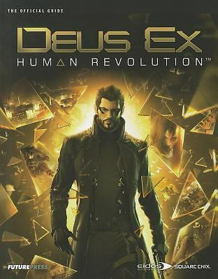 Deus Ex: Human Revolution The Official Guide, Future Press, Acceptable Book