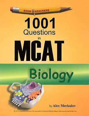Examkrackers 1001 Questions in MCAT Biology, Merkulov, Alex, Acceptable Book