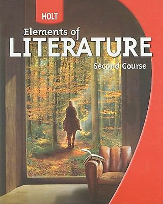 Holt Elements of Literature: Student Edition Grade 8 Second Course 2009 by HOLT