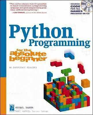 Python Programming for the Absolute Beginner, Dawson, Michael, Acceptable Book
