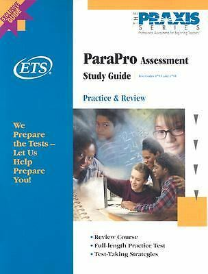 ParaPro Study Guide (Praxis Study Guides), Educational Testing Service, Acceptab