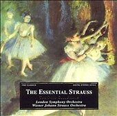 The Essential Strauss, , Good Import