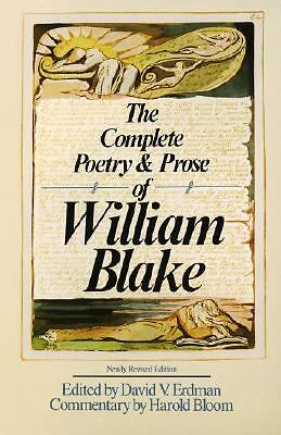 The Complete Poetry & Prose of William Blake by William Blake, David V. Erdman,