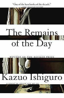 The Remains of the Day, Kazuo Ishiguro, Good Book