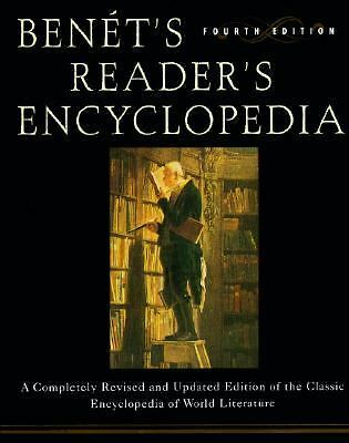 Benet's Reader's Encyclopedia: Fourth Edition,Murphy, Bruce,  Acceptable  Book
