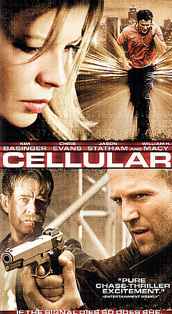 Cellular (DVD 2005 Platinum Series) Like New Condition Excellent & Suspenceful