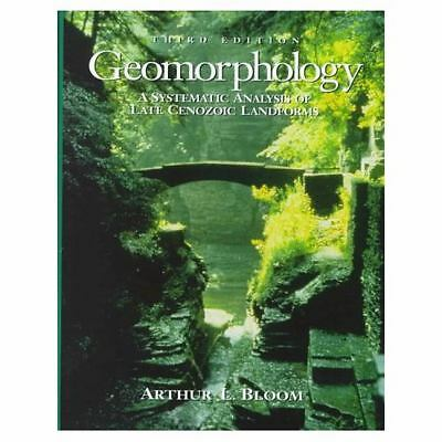 Geomorphology: A Systematic Analysis of Late Cenozoic Landforms (3rd Edition),Bl