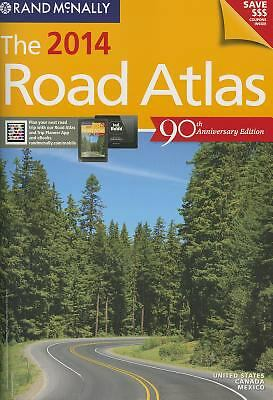 Rand McNally 2014 Road Atlas United States, Canada & Mexico (Rand Mcnally Road A