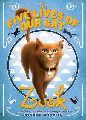 The Five Lives of Our Cat Zook, Rocklin, Joanne, Acceptable Book