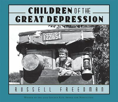 Children of the Great Depression, Freedman, Russell, Good, Books