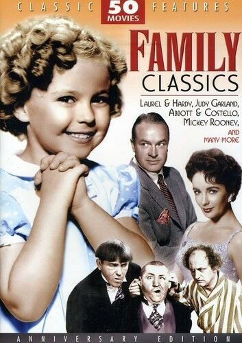 Family Classics 50 Movie Pack Collection by Judy Garland, Shirley Temple, Micke