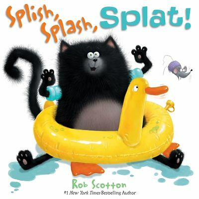 Splish, Splash, Splat! (Splat the Cat), Rob Scotton, Good Book