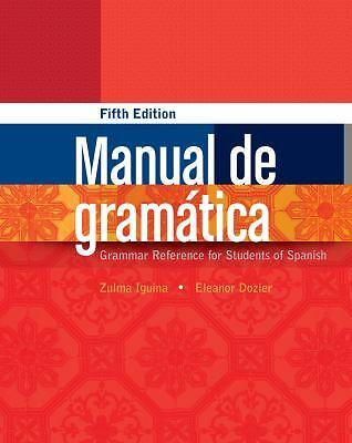 Manual de gramática, Dozier, Eleanor, Iguina, Zulma, Acceptable Book