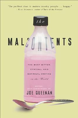 Malcontents, Queenan, Joe, Acceptable Book