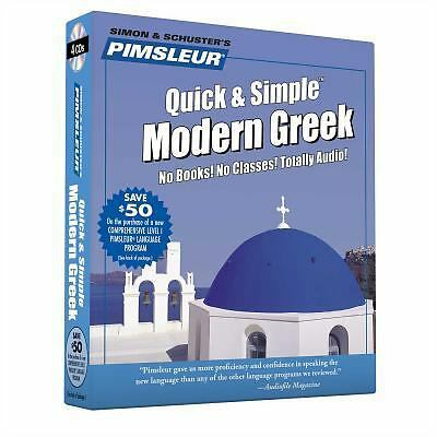 Greek (Modern), Q&S: Learn to Speak and Understand Modern Greek with Pimsleur L