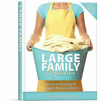 Large Family Logistics, Kim Brenneman, Acceptable Book