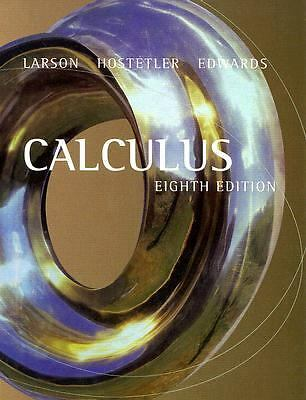 Calculus (With Analytic Geometry)(8th edition), Ron Larson, Robert P. Hostetler,