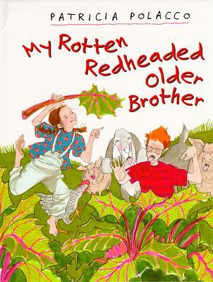 My Rotten Redheaded Older Brother, Polacco, Patricia, Good, Books