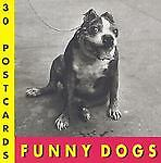 Funny Dogs Postcard Book, Suares, J.C., Acceptable Book