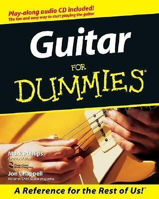 Guitar For Dummies (For Dummies (Computer/Tech)), Chappell, Jon, Phillips, Mark,