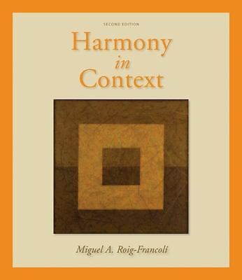 Harmony in Context by Roig-Francoli, Miguel