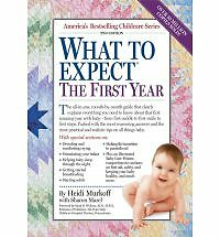 What to Expect the First Year - Heidi Murkoff - Good Condition