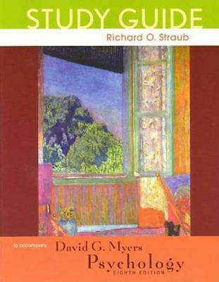 Psychology Study Guide, Straub, Richard O., Acceptable Book