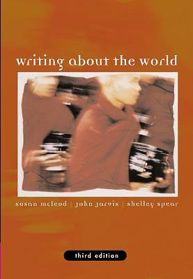 Writing about the World (with InfoTrac)