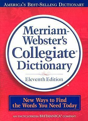 Merriam-Webster's Collegiate Dictionary, 11th Edition (CD inside ) by Merriam-W