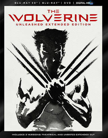 The Wolverine - Unleashed Extended Edition (Blu-ray 3D / Blu-Ray / DVD / Digita