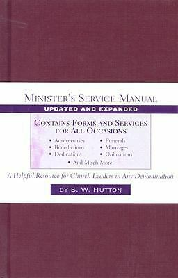 Minister's Service Manual by Hutton, Samuel Ward