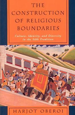 The Construction of Religious Boundaries: Culture, Identity, and Diversity in th